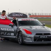 Gaming Controller Operated Nissan GT R 3 175x175 at Gaming Controller Operated Nissan GT R Tackles Silverstone