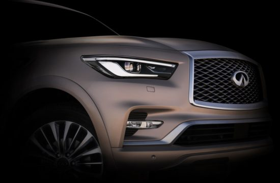 INFINITI Dubai2017 teaser 550x360 at New Infiniti QX80 Announced Ahead of Dubai Debut