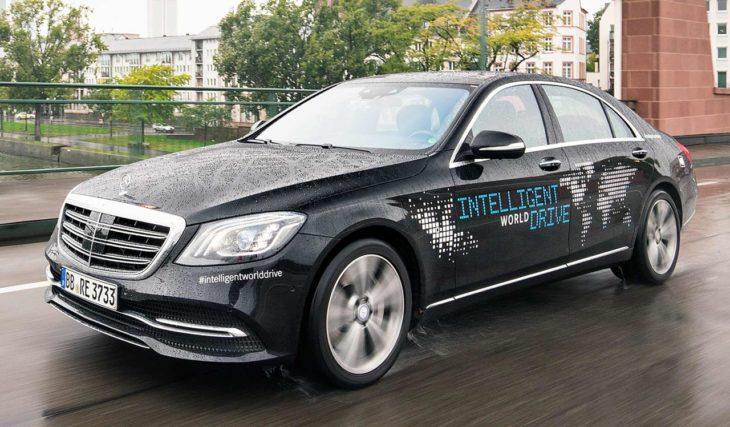 Intelligent World Drive Mercedes 1 730x427 at Autonomous Mercedes S Class Goes on Intelligent World Drive Tour