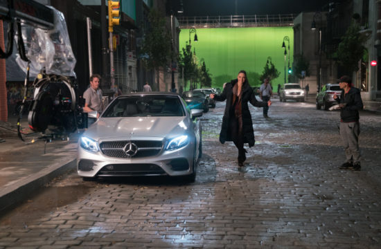 Justice League Mercedes Benz 1 550x360 at Justice League Superheroes Drive Mercedes Benz in New Movie