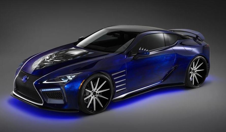 2018 Lexus Lc Inspiration Series Amp Black Panther