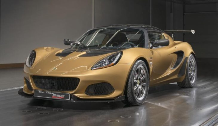 Lotus Elise Cup 260 Limited Edition 4 730x421 at Official: Lotus Elise Cup 260 Limited Edition