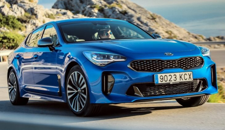 Micro Blue Kia Stinger 0 730x420 at 2018 Kia Stinger Looks Spectacular in Micro Blue