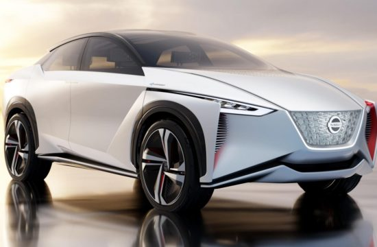 Nissan IMx Electric SUV 1 550x360 at Nissan IMx Electric SUV Revealed at Tokyo Motor Show