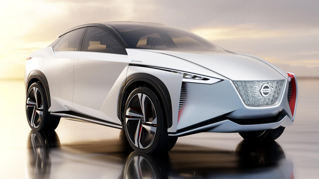 nissan imx electric suv revealed at tokyo motor show. Black Bedroom Furniture Sets. Home Design Ideas