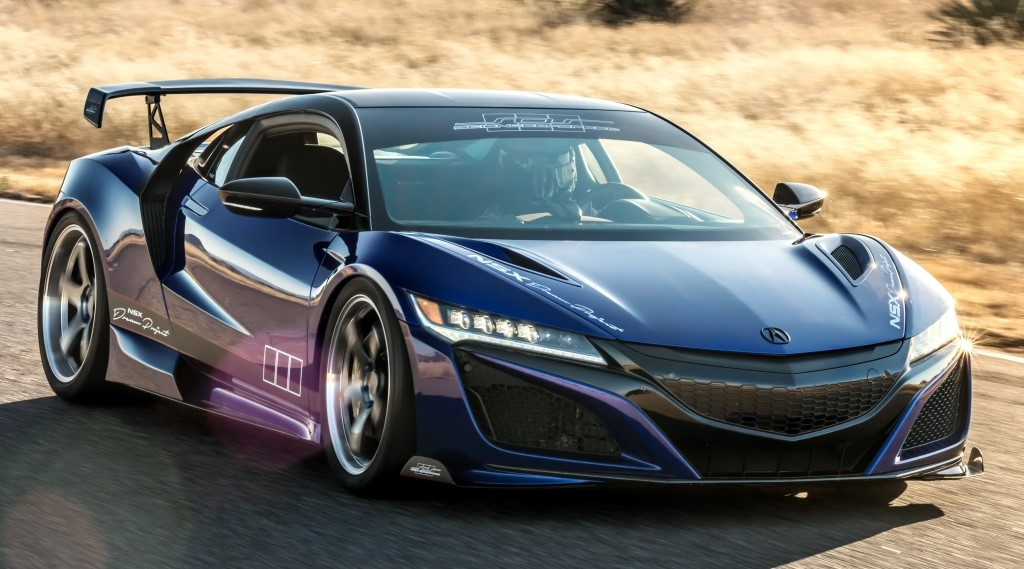 scienceofspeed acura nsx is ready for sema 2017. Black Bedroom Furniture Sets. Home Design Ideas