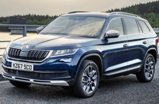 Skoda Kodiaq Scout uk 1 550x360 at 2018 Skoda Kodiaq Scout   UK Pricing and Specs