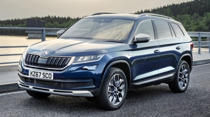 Skoda Kodiaq Scout uk 1 730x406 at 2018 Skoda Kodiaq Scout   UK Pricing and Specs