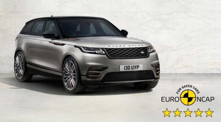 Velar NCAP Safety Rating 730x404 at Range Rover Velar Earns 5 Star Safety Rating from EuroNCAP