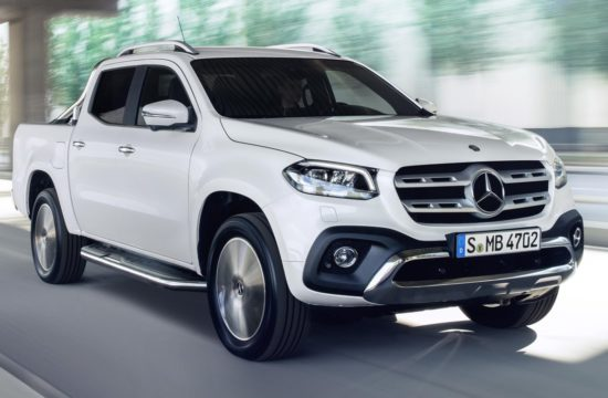 X Class 1 550x360 at 2018 Mercedes X Class Priced from £27,310 in UK