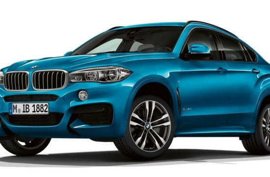 X6 M Sport Edition 1 550x360 at 2018 BMW X6 M Sport and X5 Special Edition