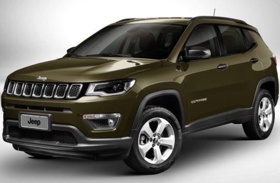 jeep compass 2017 550x360 at 2017 Jeep Compass Named IIHS Top Safety Pick