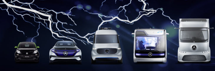 mercedes benz electric models 1 730x243 at Mercedes Benz to Launch 10 Electric Models by 2022
