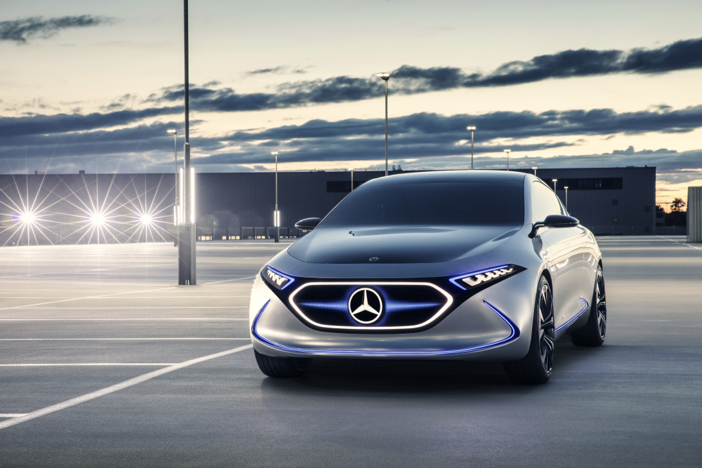 Mercedes benz to launch 10 electric models by 2022 for Models of mercedes benz