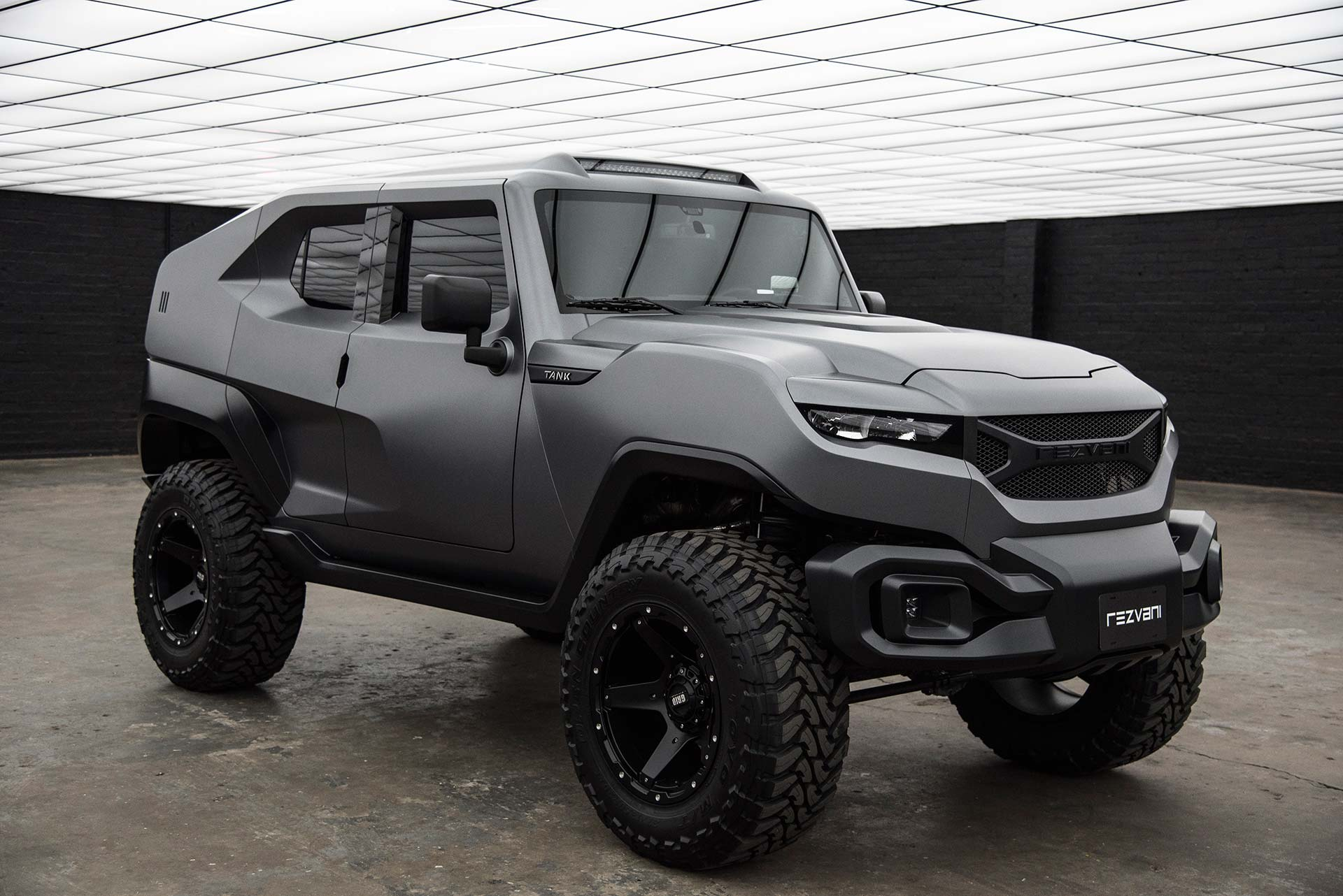 Rezvani Tank SUV Revealed with Big Engine Bigger Price Tag