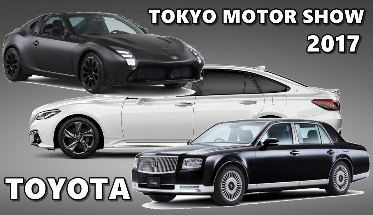 Toyota At Tokyo Motor Show 2017 Gr Hv Crown Century