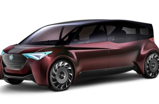 toyota fine comfort ride 550x360 at Tokyo 2017: Toyota Fine Comfort Ride Fuel Cell Concept