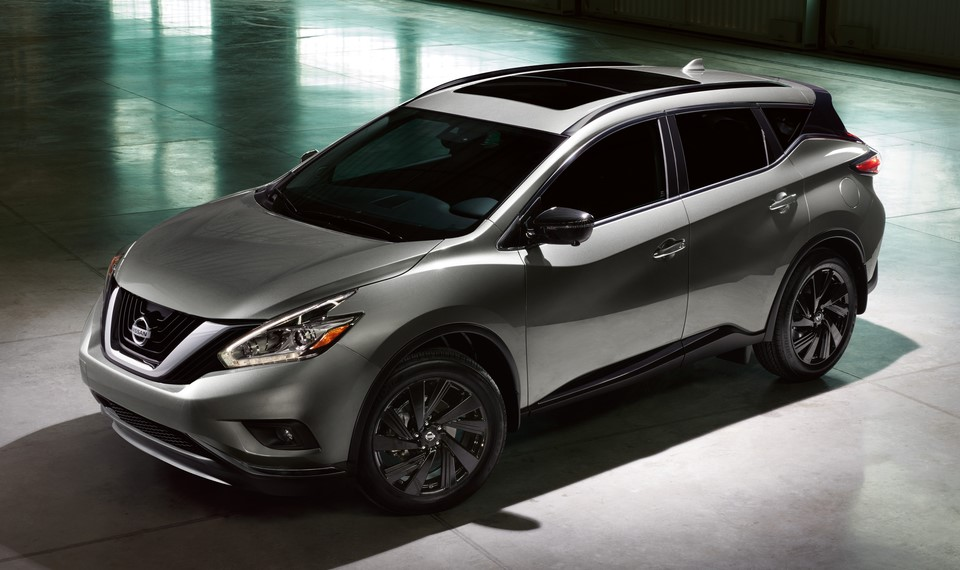 2018 nissan murano pricing specs. Black Bedroom Furniture Sets. Home Design Ideas