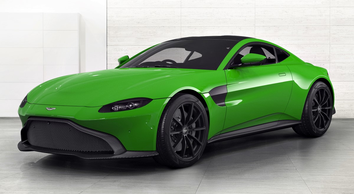 a different look at the 2018 aston martin vantage. Black Bedroom Furniture Sets. Home Design Ideas