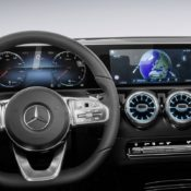 2018 Mercedes A Class Interior 11 175x175 at 2018 Mercedes A Class Interior Officially Revealed