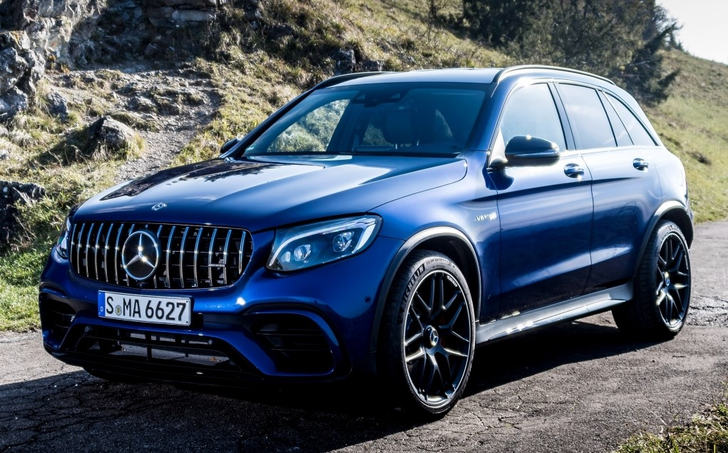 mercedes amg glc  matic suv  coupe  detail