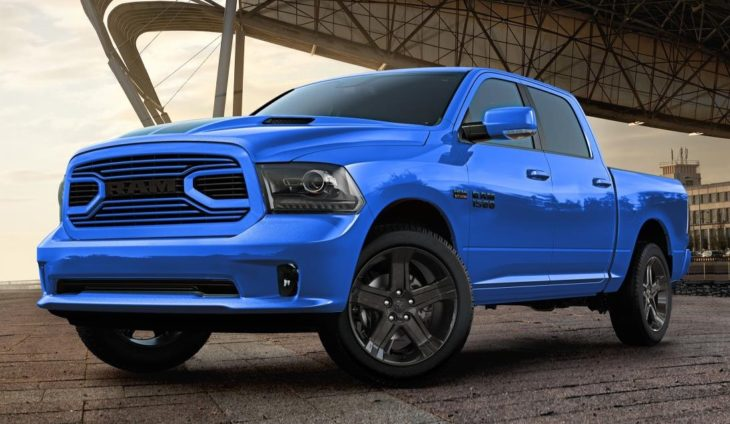 2018 Ram 1500 Hydro Blue Sport 1 730x424 at Official: 2018 Ram 1500 Hydro Blue Sport