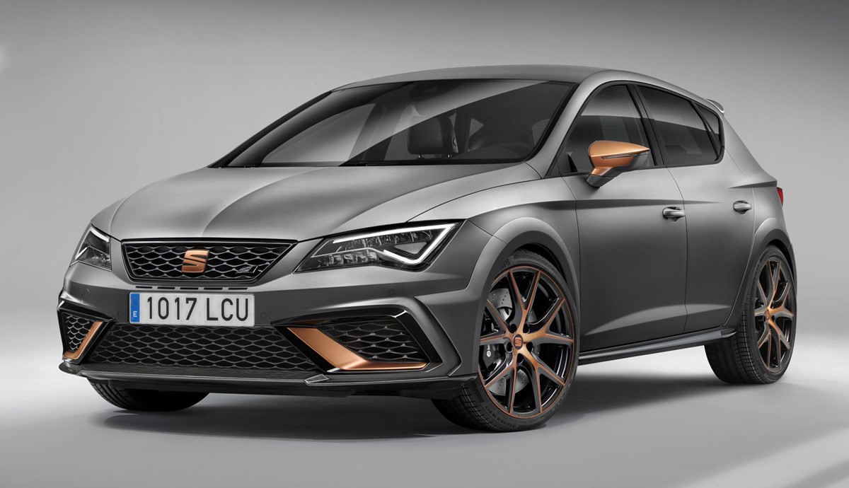 2018 seat leon cupra r uk pricing confirmed. Black Bedroom Furniture Sets. Home Design Ideas