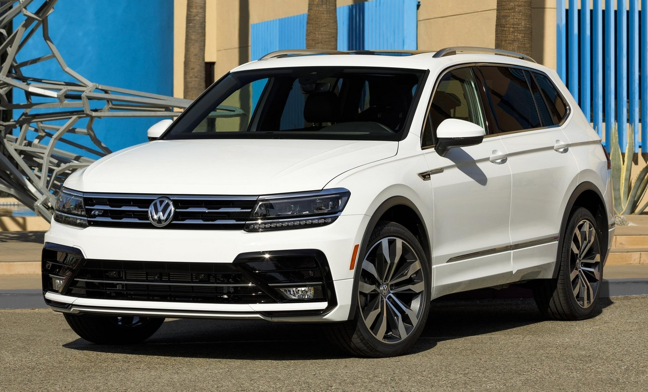 2018 VW Tiguan R-Line Launches in America
