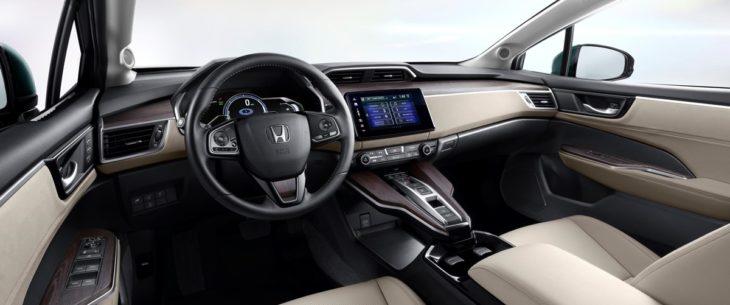 2018 Honda Clarity Plug In Hybrid   Interior 730x305 at 2018 Honda Clarity Plug in Hybrid Priced from $33,400
