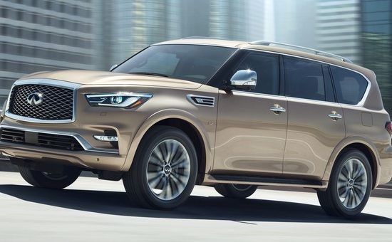 2018 INFINITI QX80   Photo 011 550x340 at 2018 Infiniti QX80 Full Size SUV Priced from $64,750