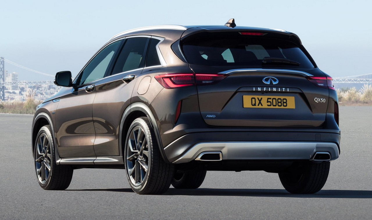 2019 infiniti qx50 revealed with vc turbo engine. Black Bedroom Furniture Sets. Home Design Ideas