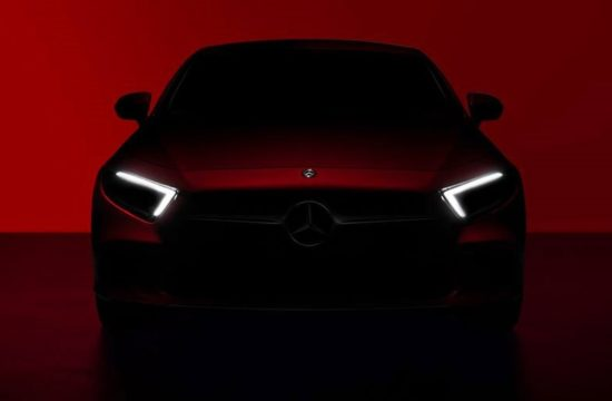 2019 Mercedes CLS preview 1 550x360 at 2019 Mercedes CLS Confirmed for L.A. Auto Show Debut