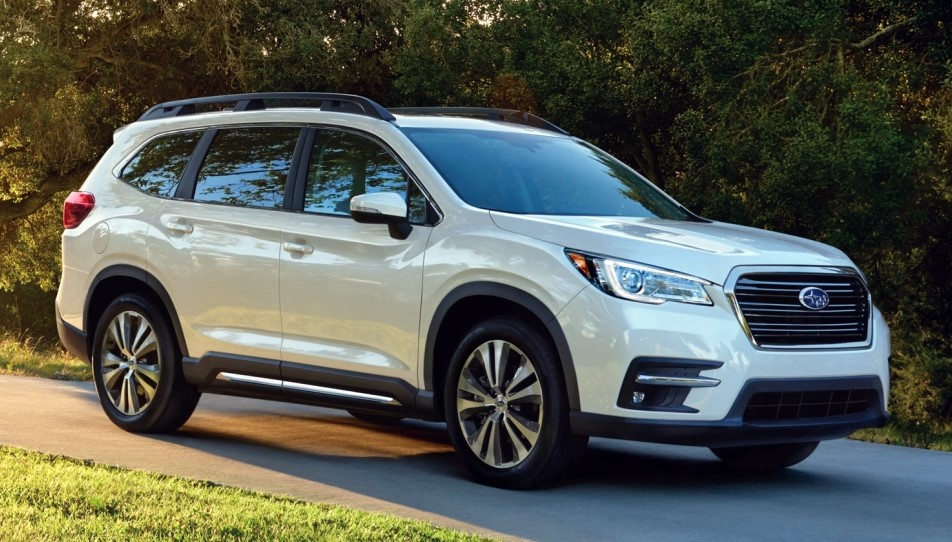 2019 subaru ascent 8 seater suv officially unveiled. Black Bedroom Furniture Sets. Home Design Ideas