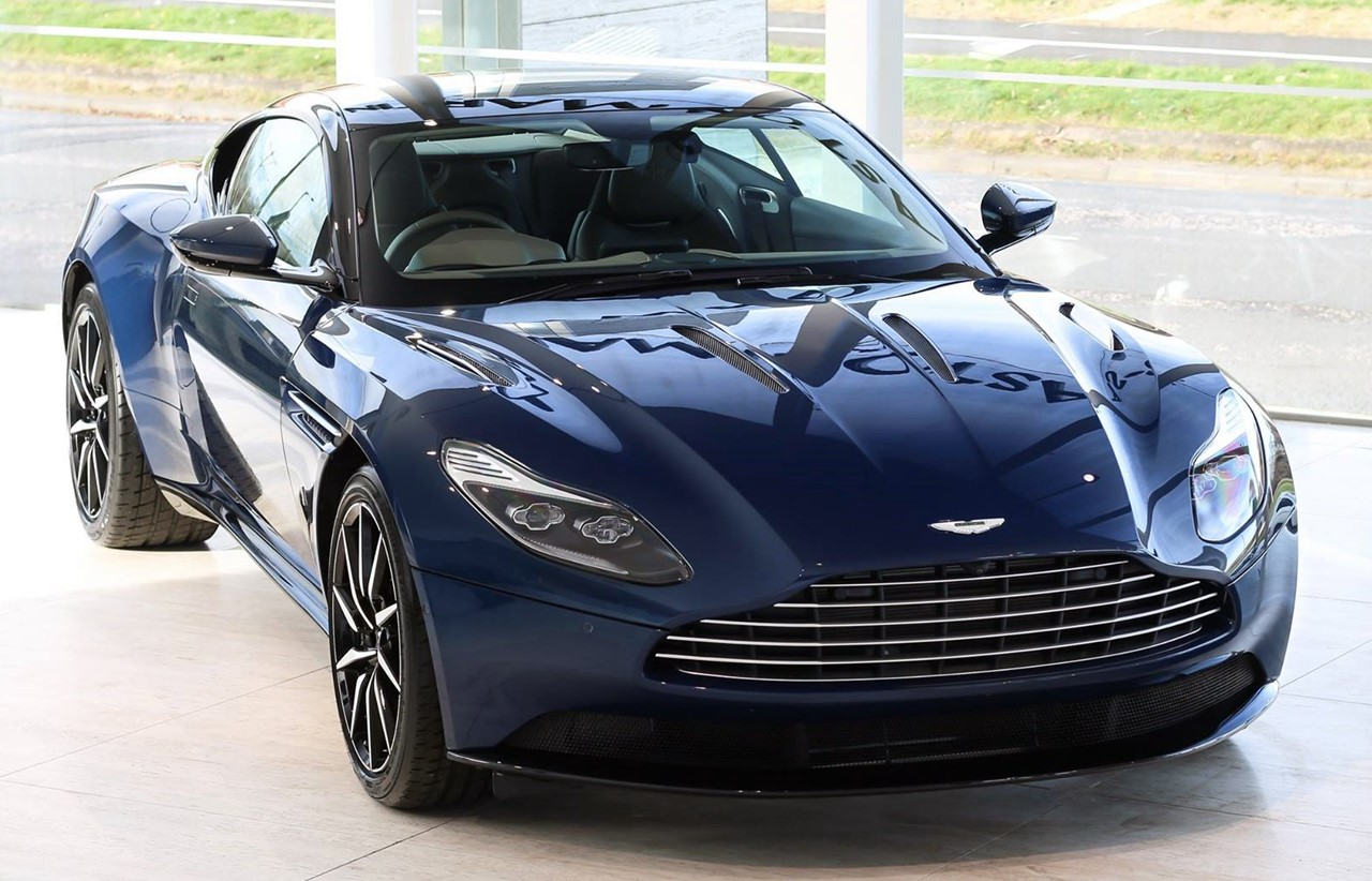 aston martin db11 nc500 is an homage to scotland. Black Bedroom Furniture Sets. Home Design Ideas