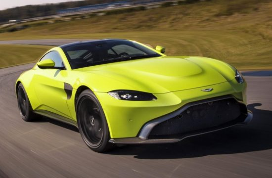 Aston Martin Vantage Lime Essence 02 550x360 at 2018 Aston Martin Vantage Revealed, Looks Weird