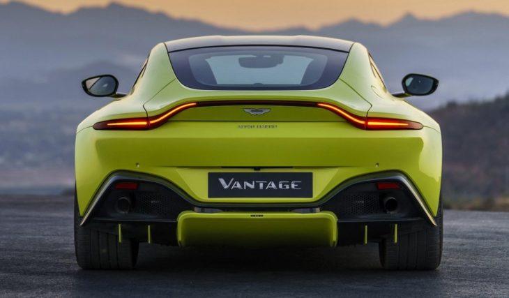 Aston Martin Vantage Lime Essence 22 730x427 at 2018 Aston Martin Vantage Revealed, Looks Weird