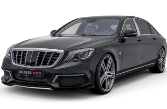 Brabus Maybach S650 1 550x360 at Brabus Maybach S650 Packs 888 bhp