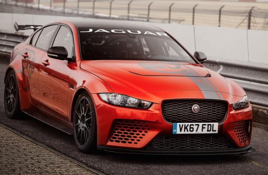 J SVO XE SV Project8 19MY Nurburgring record 1 550x360 at Jaguar XE SV Project 8 Smashes Nurburgring Record for Sedans