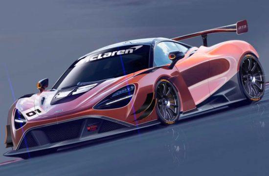 McLaren 720S GT3 2019 1 550x360 at McLaren 720S GT3 Race Car Officially Announced