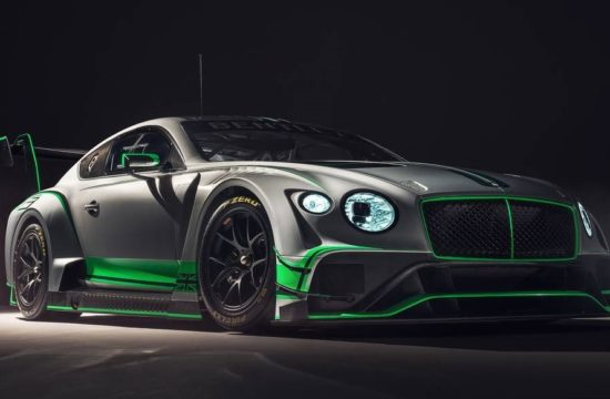 New Bentley Continental GT3 1 550x360 at New Bentley Continental GT3 Revealed Based on 2018 Model
