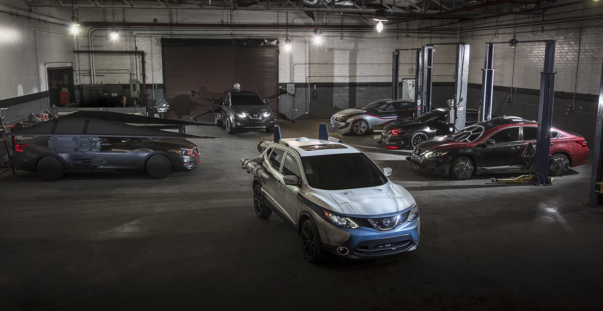 Nissan Star Wars Vehicles Take L A Auto Show By Storm