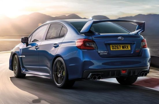 Subaru WRX STI Final Edition 1 550x360 at 2017 Subaru WRX STI Final Edition Marks The End of an Era