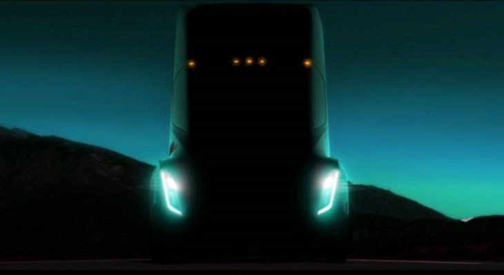Tesla Electric Semi Truck 1 730x399 at Tesla Electric Semi Truck   What We Know So Far