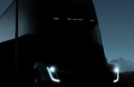 Tesla Electric Semi Truck 2 550x360 at Tesla Electric Semi Truck   What We Know So Far