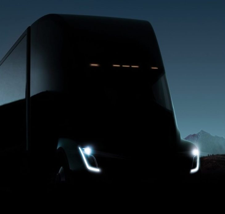 Tesla Electric Semi Truck 2 730x693 at Tesla Electric Semi Truck   What We Know So Far