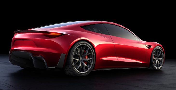 Tesla Roadster 2020 730x373 at Car Design   Are We at the End of the Road?