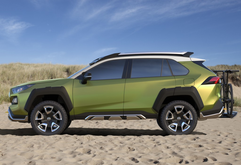 toyota adventure concept ft ac revealed ahead of l a debut. Black Bedroom Furniture Sets. Home Design Ideas