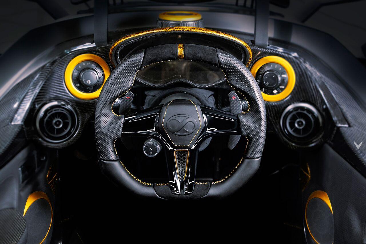 Tramontana Supercar Gets Gold Interior From Vilner
