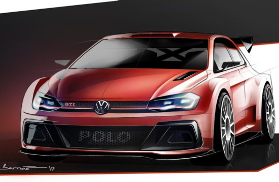 VW Polo R5 GTI sketch 550x360 at 2018 VW Polo R5 GTI Rally Car   Preview
