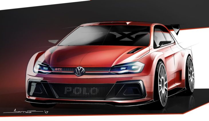 VW Polo R5 GTI sketch 730x423 at Citroen C3 R5 Gears Up for First Public Outing